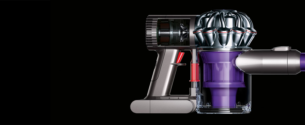 Cordless Vacuum Close up