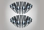 ダイソン Dyson Ball Motorhead+ キャニスター型掃除機。 2 Tier Radial™(ティアーラジアル)サイクロン。 24個の内側のサイクロンが同時に機能することで、風量を強め、強力な遠心力を生み出し、より多くのゴミを分離します。