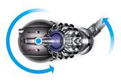 ダイソン Dyson Ball Motorhead+ キャニスター型掃除機。 最新のBall™テクノロジー。 思いどおりにコントロール。優れた操作性を実現する可動式連結部。