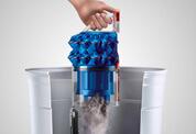 ダイソン ボール フラフィ キャニスター型掃除機 - 簡単で清潔なゴミ捨て