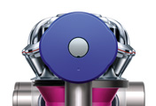 The Dyson V6 Trigger Pro handheld vacuum cleaner. Boost mode. Push button to select power. Provides 6 minutes of higher suction for more difficult tasks.