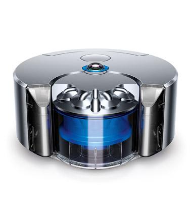 Dyson 360 Eye™ ロボット掃除機 (ニッケル/ブルー)