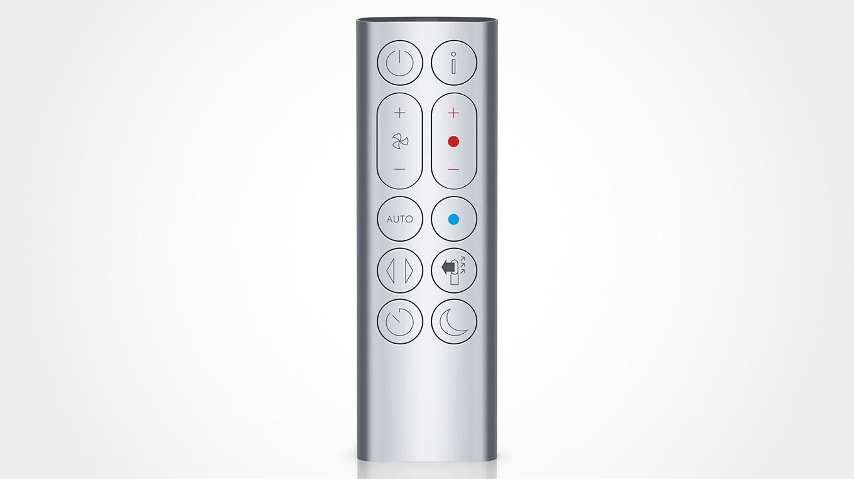 シンプルなデザインのリモコンで、すべての機能の操作が可能です。