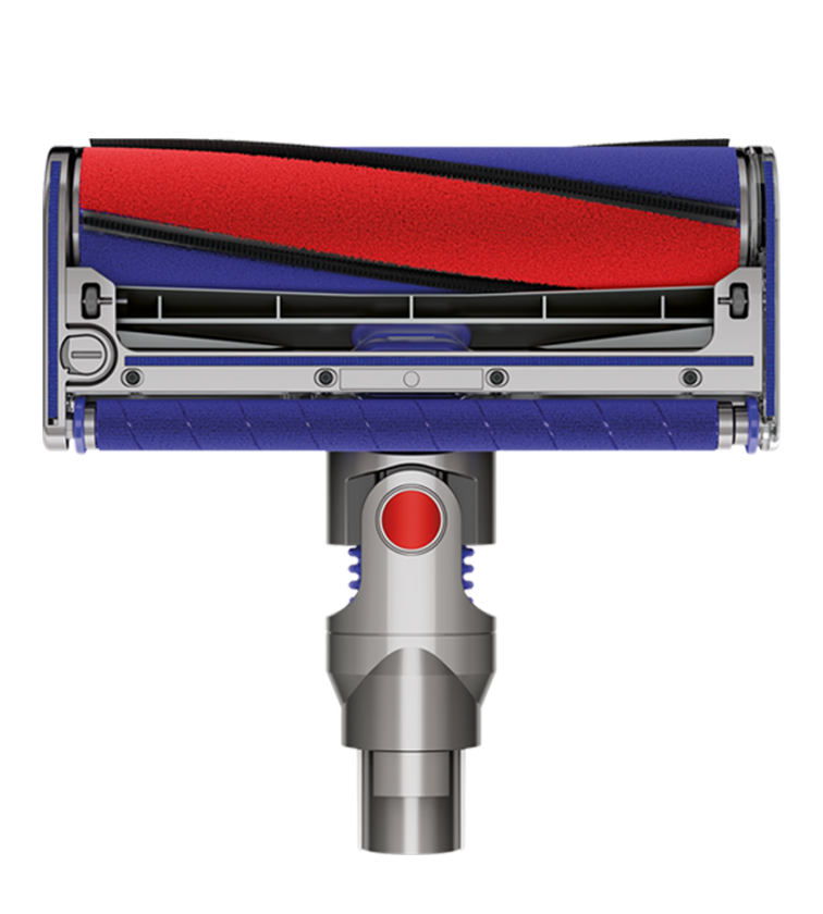 Bottom view of Dyson Soft Roller Cleaner Head